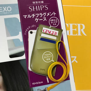 シップス(SHIPS)のGINGER11月号付録(ファッション)