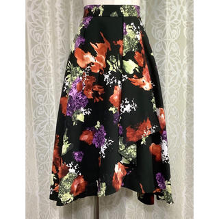 FRAY I.D(フレイ アイディー) 花柄ロングスカート