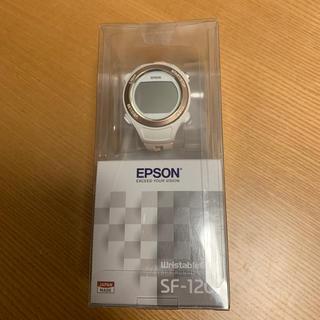 エプソン(EPSON)のEPSONランニング用ウォッチ(ランニング/ジョギング)