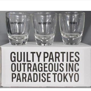 ワコマリア(WACKO MARIA)のWACKO MARIA GUILTY PARTIES SHOT GLASS (グラス/カップ)