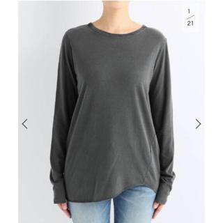 DEUXIEME CLASSE - Layering Tシャツ グレー 新品タグ付き 試着無し
