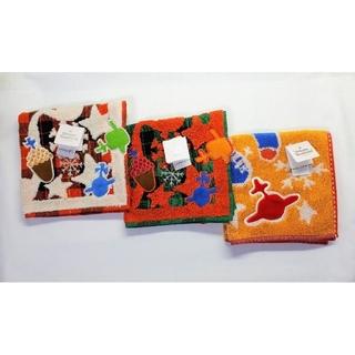 Vivienne Westwood - 【送料無料】未使用■ヴィヴィアンウエストウッド■クリスマス柄タオルハンカチ■3枚
