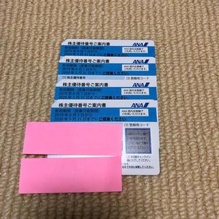 ANA(全日本空輸) - ANA(全日本空輸)株主優待券 最新券4枚セット