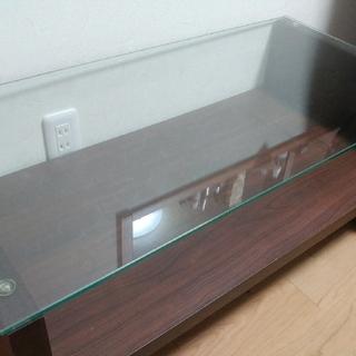 ガラス ローテーブル 神奈川県藤沢市 引き取り限定(ローテーブル)