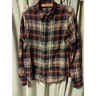 クロムハーツ(Chrome Hearts)のクロ厶ハーツ コットン ネルシャツ M グリーン系 チェック柄(シャツ)