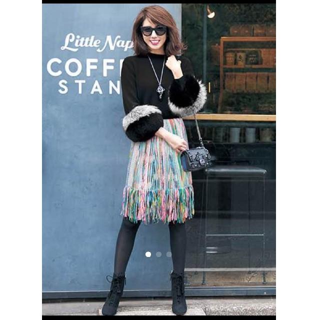 Chesty(チェスティ)のbear様専用Chesty MissAdora ツイード スカート レディースのスカート(ひざ丈スカート)の商品写真