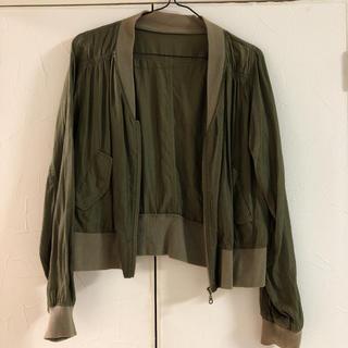 グリーンレーベルリラクシング(green label relaxing)のグリーンレーベルのジャケット(ナイロンジャケット)