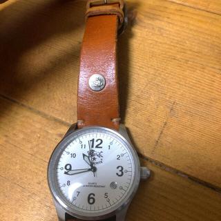 イルビゾンテ(IL BISONTE)の専用。限定お値下げ!イルビゾンテ 腕時計 焼きヌメ(腕時計)