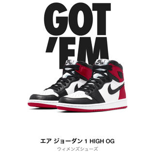 ナイキ(NIKE)のNIKE AIR JORDAN 1 RETRO HIGH OG SATINつま黒(スニーカー)