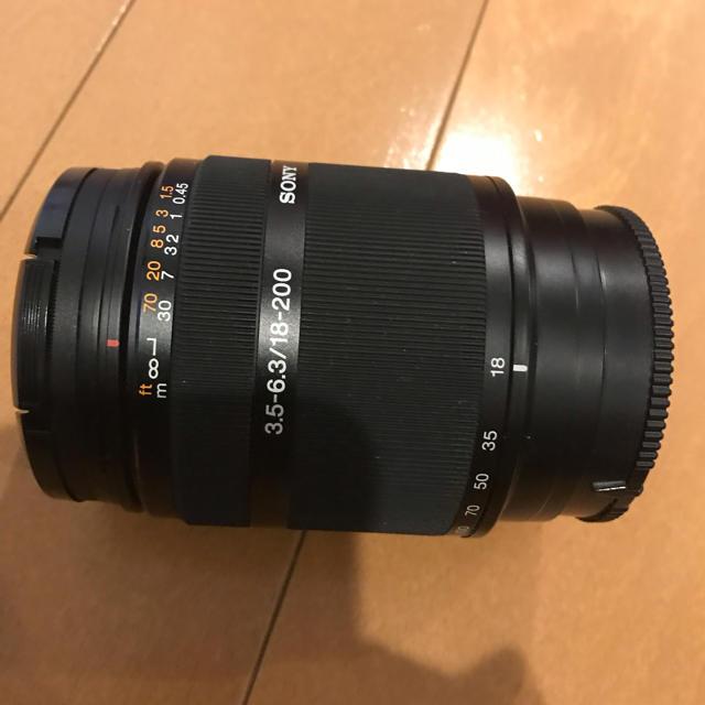 SONY(ソニー)のソニー 望遠ズームレンズ SAL18200 スマホ/家電/カメラのカメラ(レンズ(ズーム))の商品写真