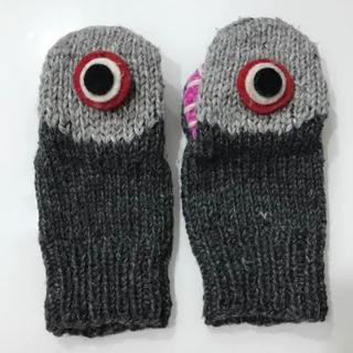 メルロー(merlot)のサメ 手袋(手袋)