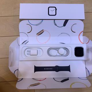 アップル(Apple)のApple Watch4 GPS 40mm スペースグレイアルミ バンドのみ新品(腕時計(デジタル))