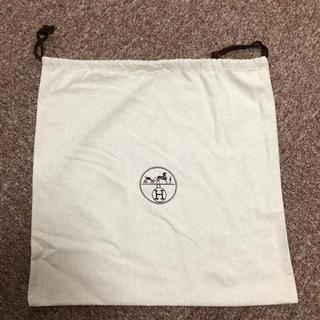 Hermes - エルメス 保存袋  巾着 未使用