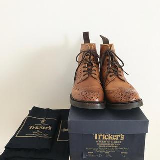 トリッカーズ(Trickers)のTricker's トリッカーズ ブーツ 6 1/2 ブラウン(ブーツ)