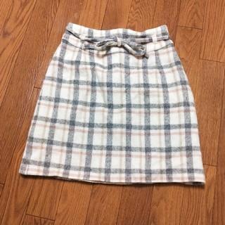 セシルマクビー(CECIL McBEE)の【9月21日まで限定】CECIL McBEE チェックタイト スカート S(ミニスカート)