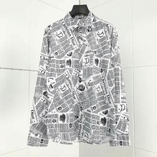 ディオール(Dior)のdior シャツ おしゃれ Lサイズ (シャツ)