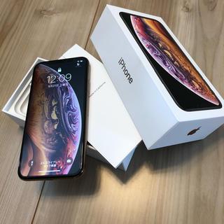 iPhone - iPhone Xs Gold 512 GB SIMフリー AppleCare+付