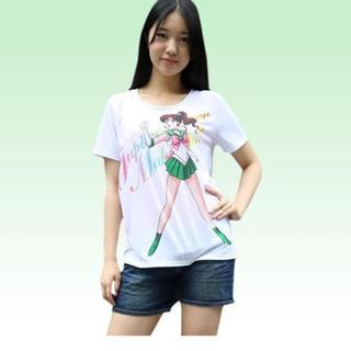 セーラームーン(セーラームーン)の☆新品未使用 セーラージュピター  Tシャツ(Tシャツ(半袖/袖なし))