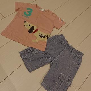サンカンシオン(3can4on)のTシャツ パンツ セット(Tシャツ)