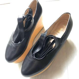 ヴィヴィアンウエストウッド(Vivienne Westwood)のvivienne westwood ロッキンホース 靴 厚底 木底(ローファー/革靴)
