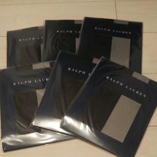 ラルフローレン(Ralph Lauren)のラルフローレン   ストッキング  黒色  M~Lサイズ  6足セット(タイツ/ストッキング)