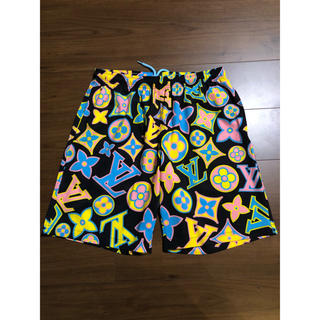 OFF-WHITE - Imran Potato Fancy LV Swimming Shorts M