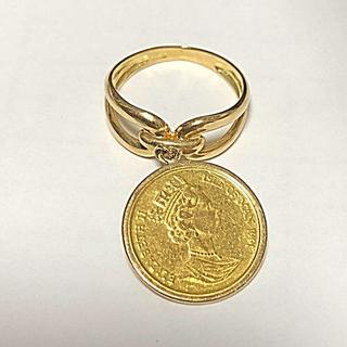 k24 キャットコイン k18 リング  3g(リング(指輪))