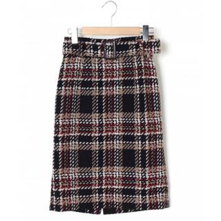 JUSGLITTY - ジャスグリッティー ツイード スカート