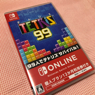 Nintendo Switch - 【新品未使用】テトリス99