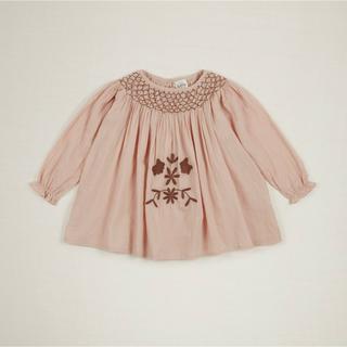 キャラメルベビー&チャイルド(Caramel baby&child )のApolina kids SISSY DRESS SET- CARNATION(ワンピース)