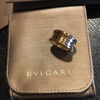 ブルガリ(BVLGARI)のブルガリ B-zero 1 イエローゴールド 18k (リング(指輪))