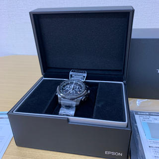エプソン(EPSON)のTR-MB5002  TRUME  時計  新品未使用(腕時計(アナログ))