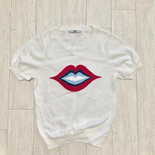 スライ(SLY)のSLY キスリップ(Tシャツ(半袖/袖なし))