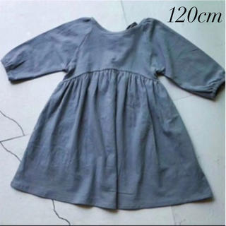 ザラキッズ(ZARA KIDS)の新品  韓国子供服 ワンピース ワンピ ナチュラル キッズ ベビー(ワンピース)