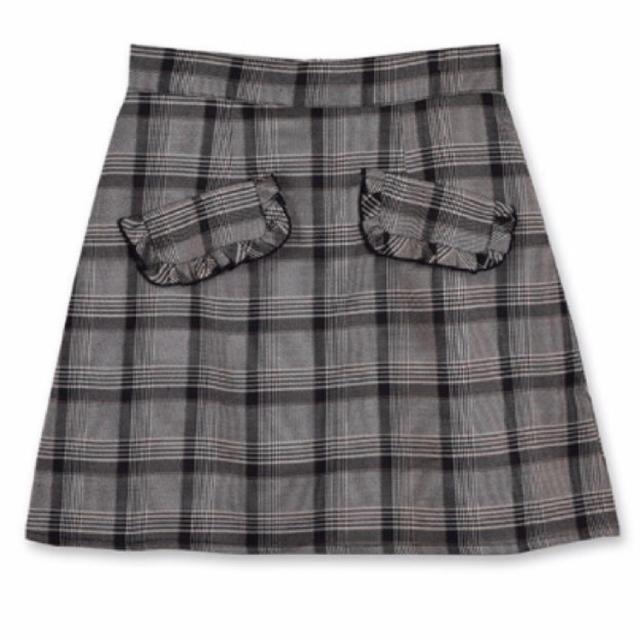 evelyn(エブリン)の最安値🌟 evelyn グレンチェック スカート レディースのスカート(ミニスカート)の商品写真