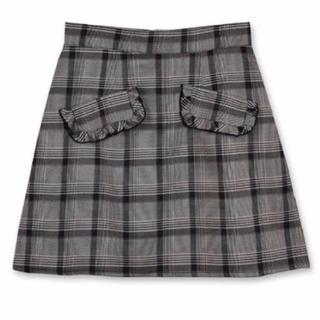 evelyn - 最安値🌟 evelyn グレンチェック スカート