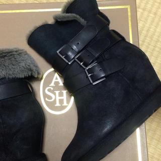 アッシュ(ASH)のなお様専用 本革ムートンブーツ37(ブーツ)