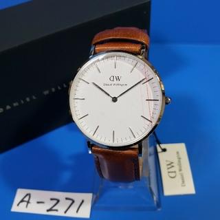 ダニエルウェリントン(Daniel Wellington)のA-271新品36mm❤D.W. ST.MAWESメンズ♥激安価格♥送料無料❤(腕時計(アナログ))