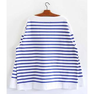 コモリ(COMOLI)の新品同様 19AW OUTIL TRICOT AAST バスクシャツ サイズ1(Tシャツ/カットソー(七分/長袖))
