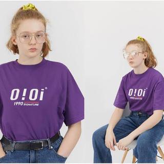 OiOi Tシャツ 紫