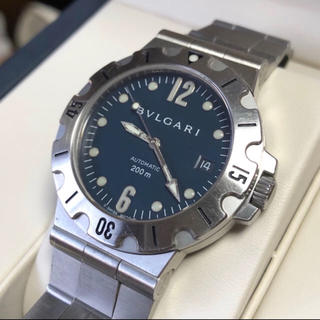 BVLGARI - ブルガリ ディアゴノ スクーバ SD38S 自動巻 自動巻き メンズ 時計