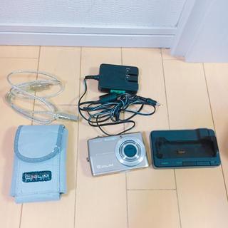 カシオ(CASIO)のEXILIN  デジカメ ビデオ カシオ EX-Z600 ジャンク(コンパクトデジタルカメラ)