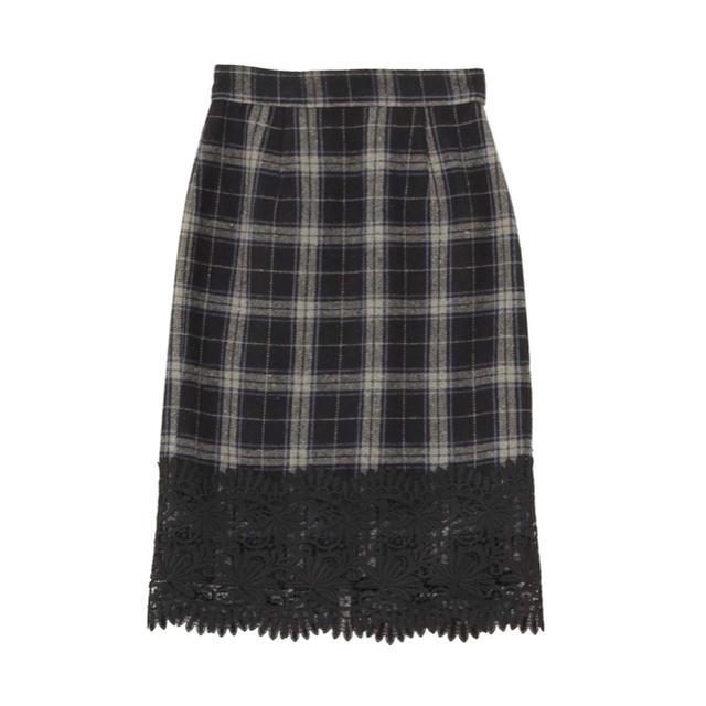 MERCURYDUO(マーキュリーデュオ)の【最終値下げ‼︎】MERCURYDUO チェックタイトスカート レディースのスカート(ひざ丈スカート)の商品写真