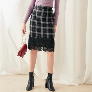 MERCURYDUO - MERCURYDUO チェックタイトスカート