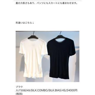theory - Theory 新品 ブラウス Tシャツ
