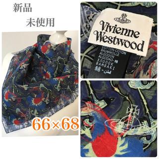 Vivienne Westwood - 新品未使用◇ヴィヴィアン   ウエストウッド バンダナ スカーフ コットン