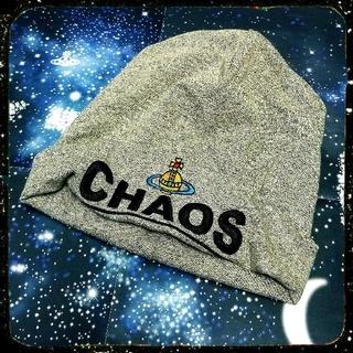 ヴィヴィアンウエストウッド(Vivienne Westwood)の新品・Worlds end限定・Chaos Beanie hat(ニット帽/ビーニー)
