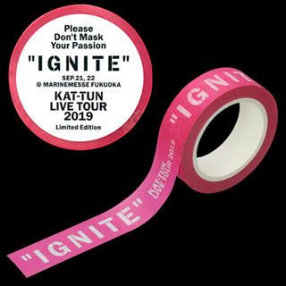KAT-TUN - KAT−TUN IGNITE マスキングテープ マステ 福岡