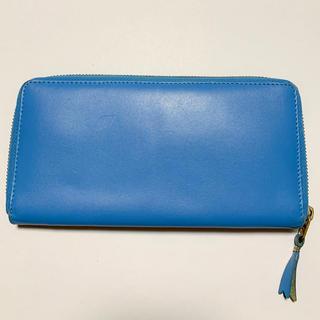 コムデギャルソン(COMME des GARCONS)のコムデギャルソン 長財布 ブルー(長財布)