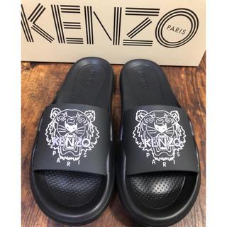 ケンゾー(KENZO)のKENZO★タイガー サンダル★ケンゾー ブラック 黒(サンダル)